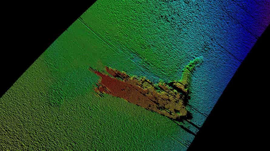 Sonar-imaging from Loch Ness in 2016.