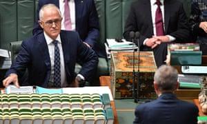 Turnbull and Shorten