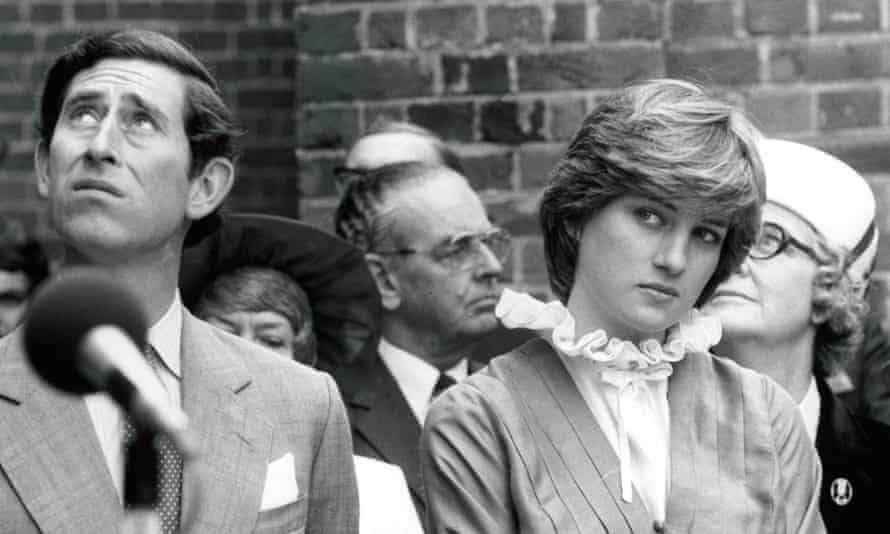The Prince and Princess of Wales in 1981.