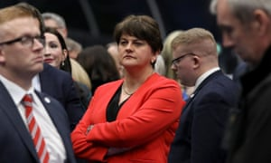 Arlene Foster, the Democratic Unionist party leader