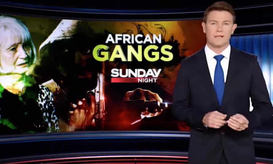 Reporter Alex Cullen presents a story about Melbourne's 'African gangs' crisis, which screened on Channel Seven's Sunday Night program and was described as 'fear mongering'
