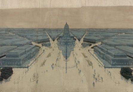 'Make no little plans' … Daniel Burnham's vision for Chicago.