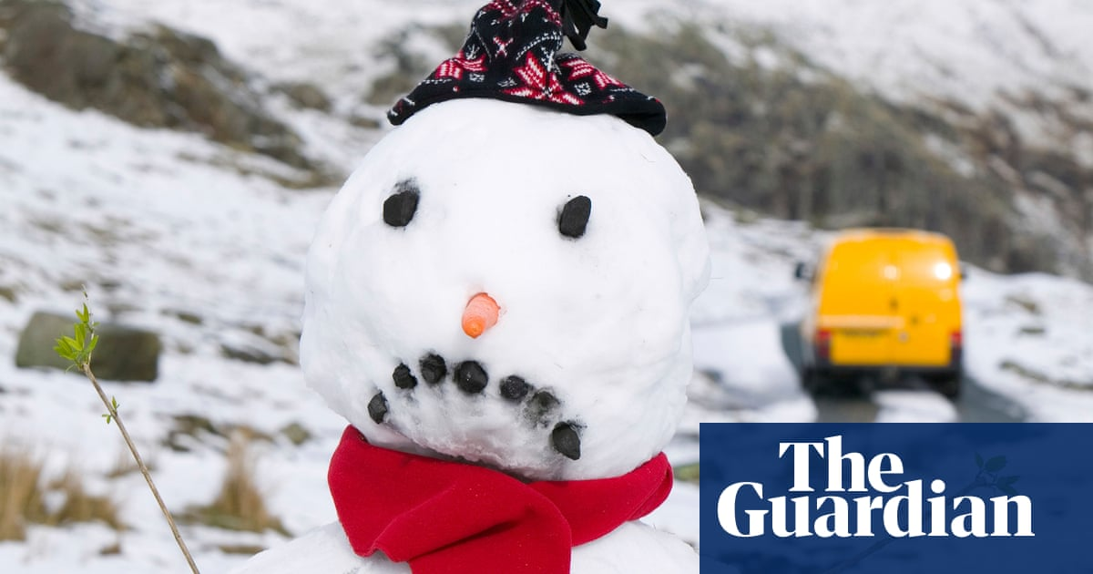 Global warming melting UK dreams of a white Christmas