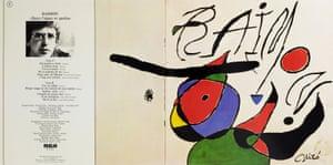 Joan Miró , Quan L'aigua Es Queixa, 1979