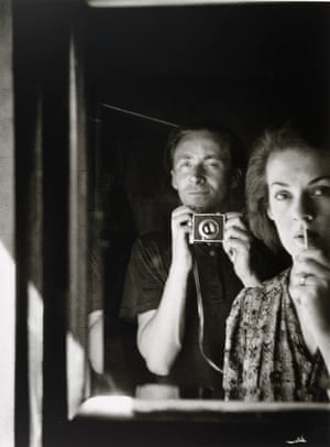 In the mirror [self portrait with Joy Hester] 1939