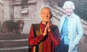 Ian McKellen during the 90th birthday celebrations of Queen Elizabeth II in the Taj Mahal Palace.