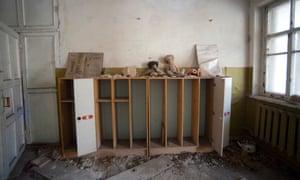An abandoned kindergarden.