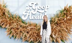 Gwyneth Paltrow at the In Goop Health Summit in San Francisco.