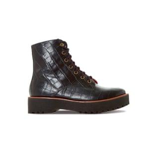 Paper-embossed leather, £175, dunelondon.com