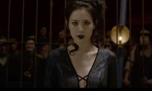 Claudia Kim as Nagini in Fantastic Beasts: The Crimes of Grindelwald.