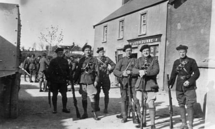 Black and Tans in County Tipperary during Ireland's war of independence