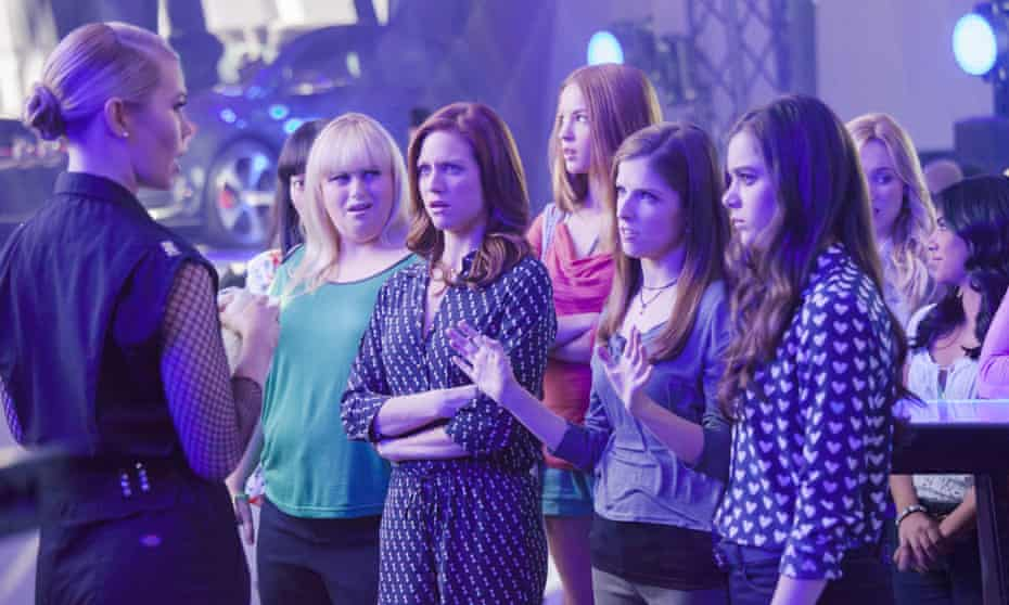 Rebel Wilson, Brittany Snow, Anna Kendrick and Hailee Steinfeld in Pitch Perfect 2