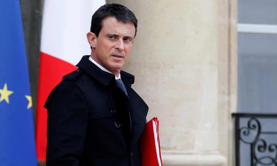 France's prime minister Manuel Valls