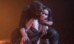 Christian Cooke and Judith Roddy in Knives in Hens