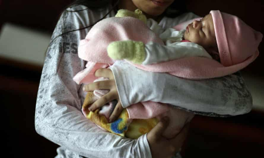 paraguay pregnant girls  children