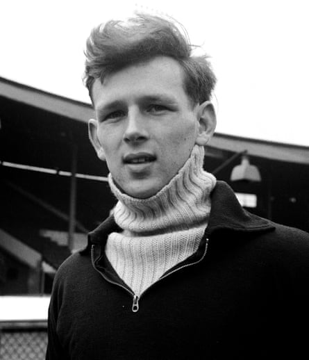 McWhirter as an Oxford University and Great Britain athlete in 1948. Photograph: S&G and Barratts/Empics Sport