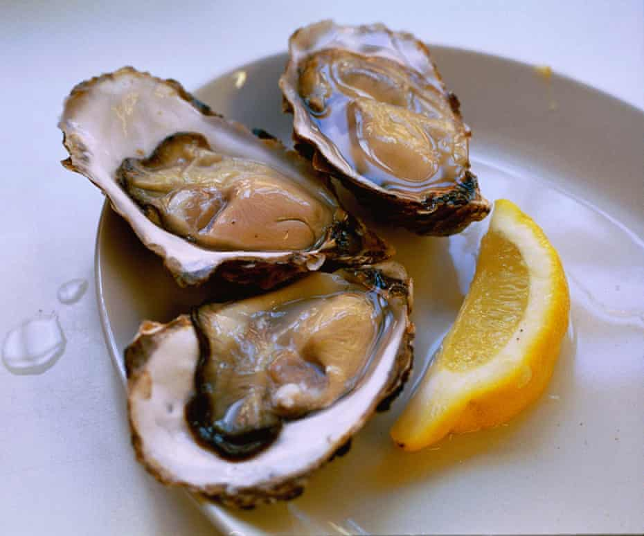 Oysters at the Butley Orford Oysterage.