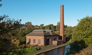 A route to the four corners of the world … Pumping station on the Birmingham to Wolverhampton Canal.