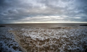 the sea at Southwold.