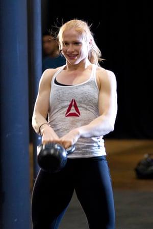 'Iceland' Annie Thorisdottir the only female Crossfit double world champion.