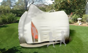 FMSA Architecture's Kooky Cubby, which will be unveiled at the Melbourne International Flower and Garden Show.
