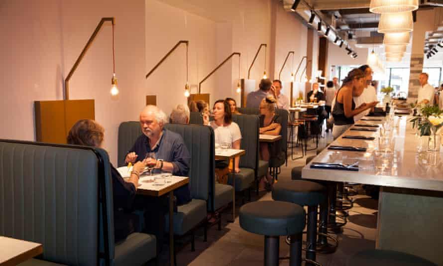 Bancone Restaurant, Covent Garden, London: 'majestically straightforward'.