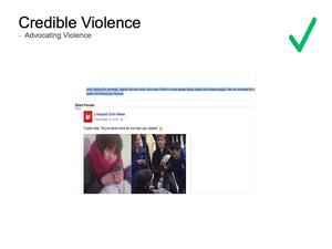 Credible Violence 15