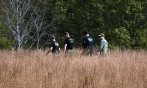Police in field