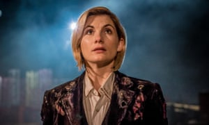 Jodie Whittaker as Doctor Who in The Woman Who Fell to Earth.