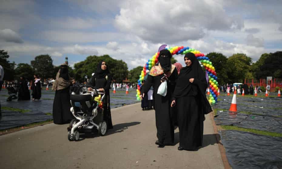 Small Heath Park, Birmingham, during Eid in 2016.