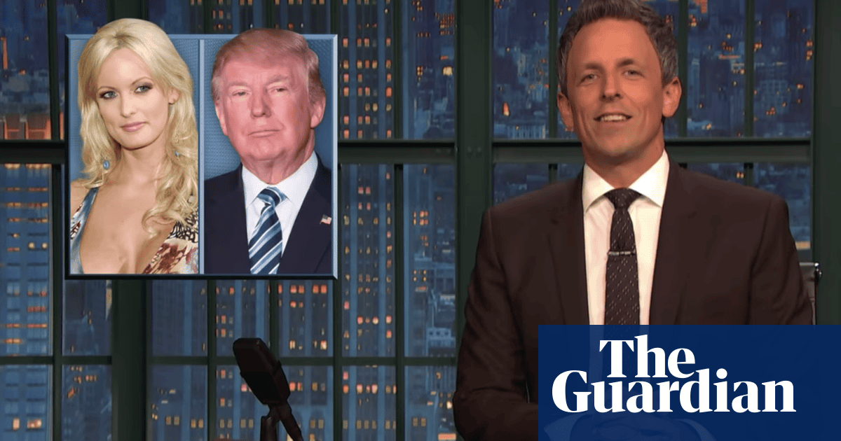Seth Meyers on Trump and Toad: 'My head's not in the gutter, the news is' | Culture | The Guardian