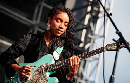 Lianne La Havas on stage in New York, August 2019.