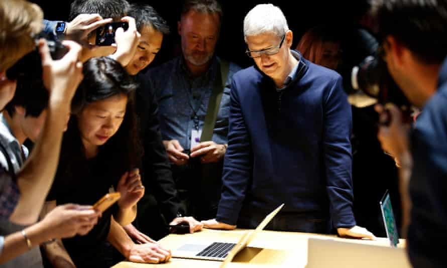 The new MacBook Pro launched with no ports other than the new USB standard
