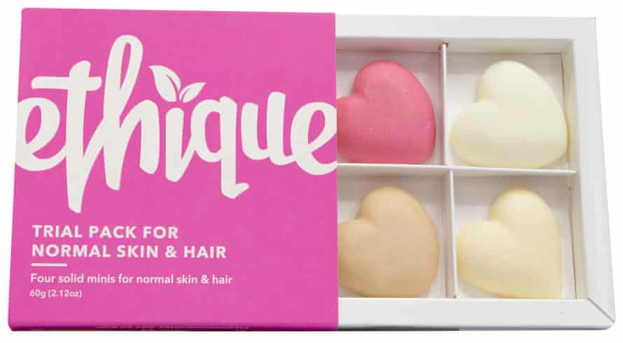 Ethique Trial Pack for skin and hair