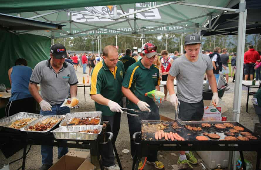 Sausage sizzles can be a big revenue raiser for community sports clubs.