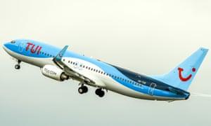 TUI aircraft taking off