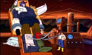 A scene from the animated TV series, from 1984.