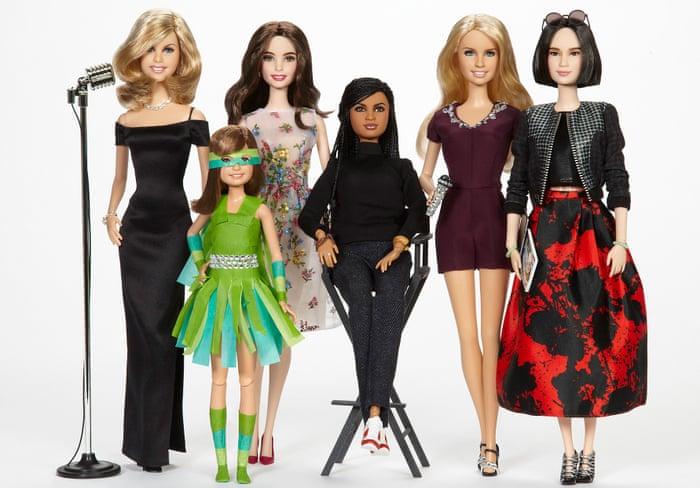 Shero Barbie dolls