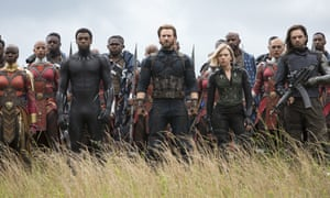 A still from Avengers: Infinity War, which has now totalled £49.1m in 11 days at the UK box office.