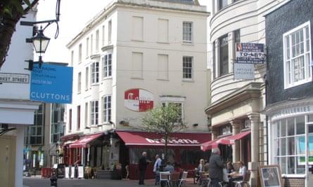 Brighton Old Town.