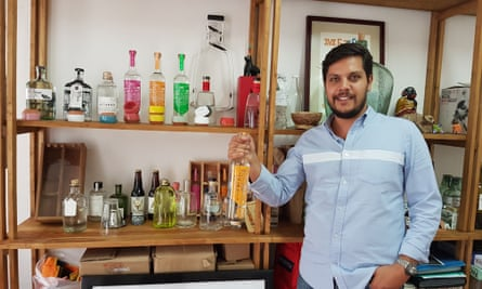 Julian Saenger: 'Every batch of mezcal should taste different, even if it's made by the same brand.'