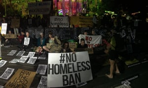 Protesters on the steps of the State Library in Melbourne on Saturday