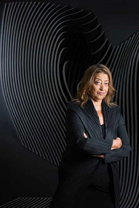 'Her looks were striking…': Zaha Hadid photographed by David Levene for the Guardian in 2013.