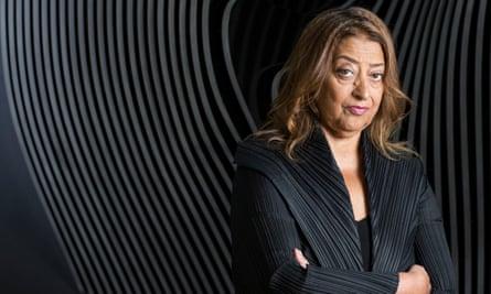 Zaha Hadid in 2013.