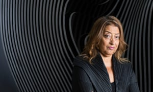 Zaha Hadid Queen Of The Curve Art And Design The Guardian