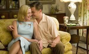 Kate Winslet and Leonardo DiCaprio in Revolutionary Road.