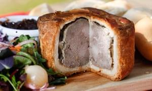A Melton Mowbray pork pie