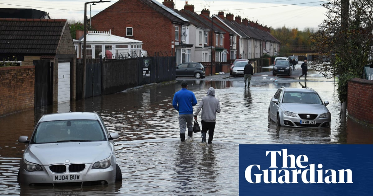 Woman dies as floods hit Midlands and north of England