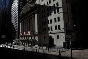 The New York Stock Exchange.
