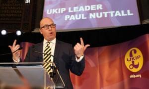 Paul Nuttall, the new Ukip leader